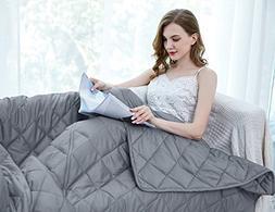 ZZZhen Weighted Blanket - 60''80'' 20LBs - Premium Quality H
