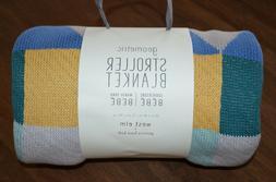 West Elm Pottery Bark Kids PBK Knit Cotton Geometric Baby St