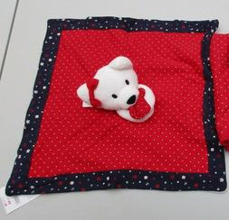 Gymboree  Westie Dog Baby Lovey Security Blanket Toy NWT