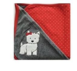 Westie Dog Blanket for Newborns