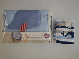 Whale Ocean Anchor Infant Nursery Baby Crib Bedding Set Show