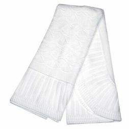 Elegant Baby® Baby White Christening Shawl with Ribbon