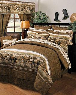 3 5 pc camouflage bedding set new