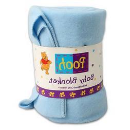 "WINNIE POOH Baby Cozy Blanket Throw Fleece Embroidered 36""x4"