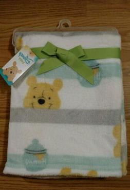 Disney Winnie the Pooh Baby Blanket Infant Lovey Boys Girls
