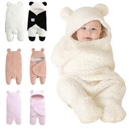 Winter Autumn Newborn Baby Blanket Swaddle Sleeping Bag Kids