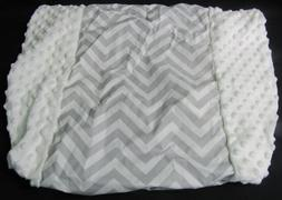 Circo Wipeable Changing Pad Cover Gray White new without pac