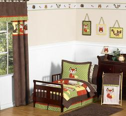 Sweet Jojo Designs 5-Piece Woodland Forest Animals Toddler B