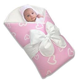 Bundlebee Baby Wrap/Swaddle/Blanket - Built-in Organic Infan