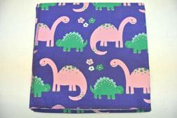 XL Baby Blanket Dinosaurs Can Be Personalized 42x42""
