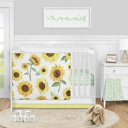 Yellow Green 4pc Sunflower Boho Floral Sweet Jojo Baby Nurse