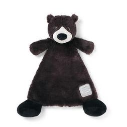 You are Loved Black Bear Black Children's Plush Lovie Toddle