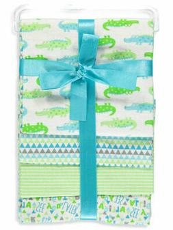 Zak & Zoey Baby Boys' 4-Pack Receiving Blankets