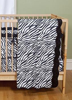 Sin in Linen Zebra Stripe Baby Play Blanket