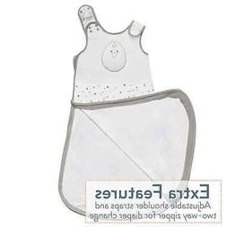 Nested Bean Zen Sack Baby Wearable Blanket -  Stardust Grey